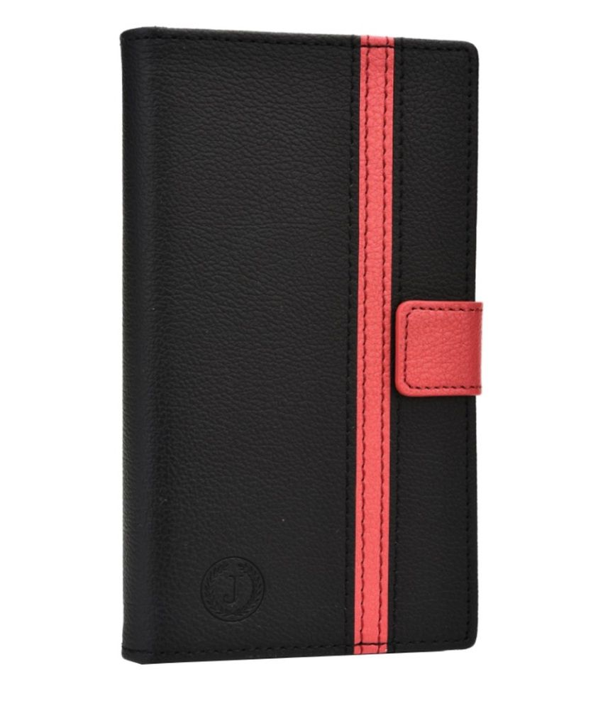 Jo Jo Bali Series Cover Leather Pouch Flip Case for Colors Elite E-45