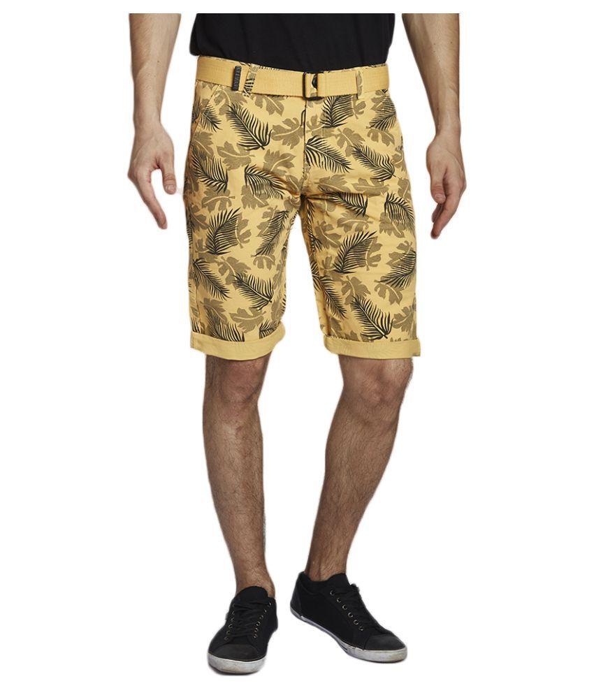Beevee Yellow Shorts