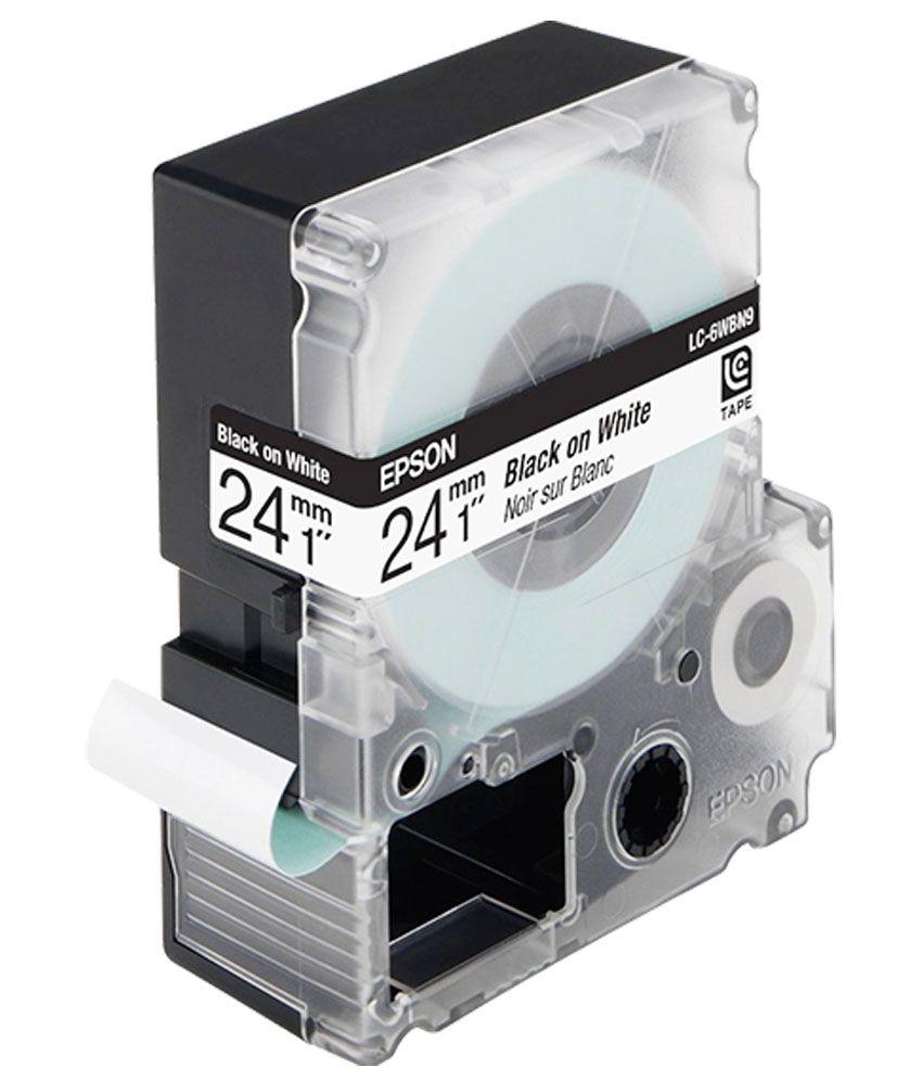 Epson Label Tape LK-6WBN
