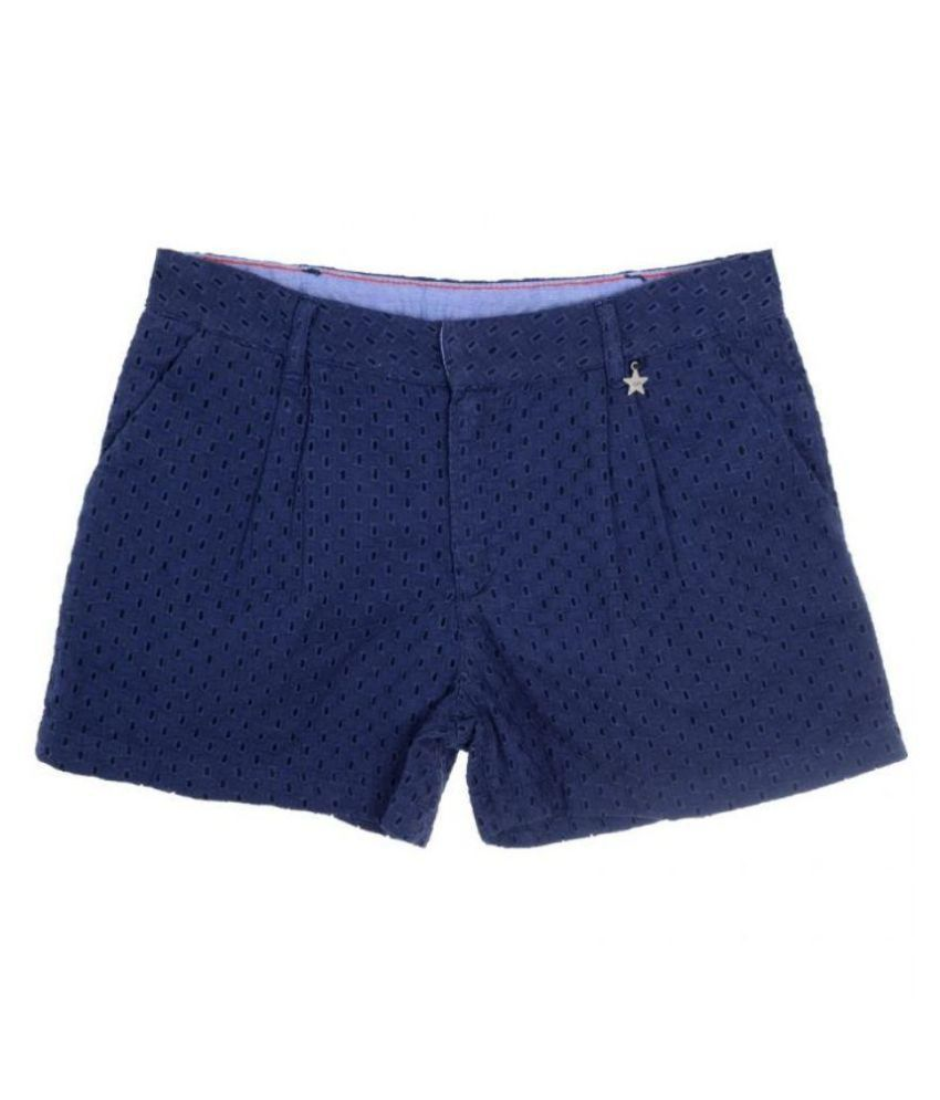 Joy n Fun Blue Shorts For Girls