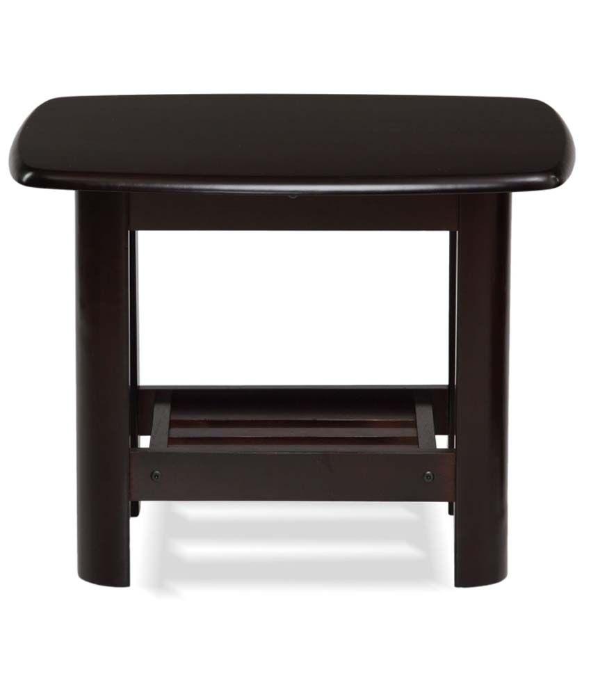 Nilkamal Manhattan Solid Wood Side Table