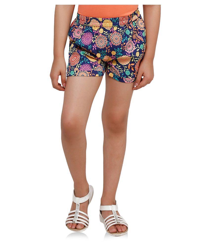 Oxolloxo Multicolour Printed Summer Shorts