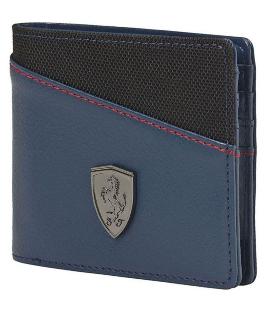 Unbox Diwali!!  Upto 70% Off On Fashion Frenzy By Snapdeal | Puma Blue Regular Wallet For Men @ Rs.558
