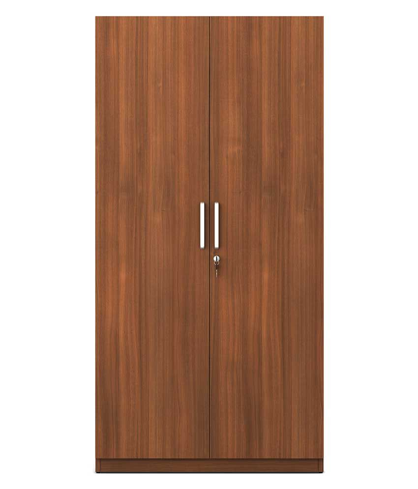 Spacewood Solo 2 Door Wardrobe Buy Online At Best Price In India On Snapdeal
