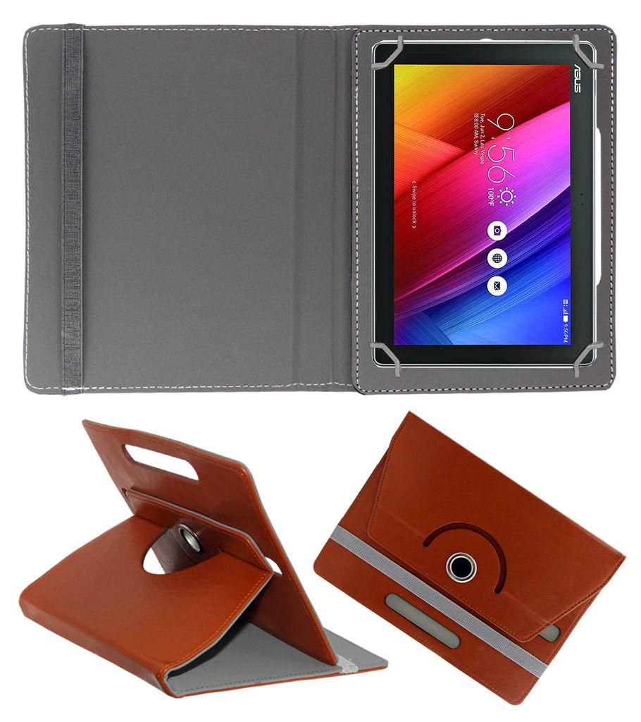 Acm Flip Cover for Asus Zenpad 10 Z300c - Brown