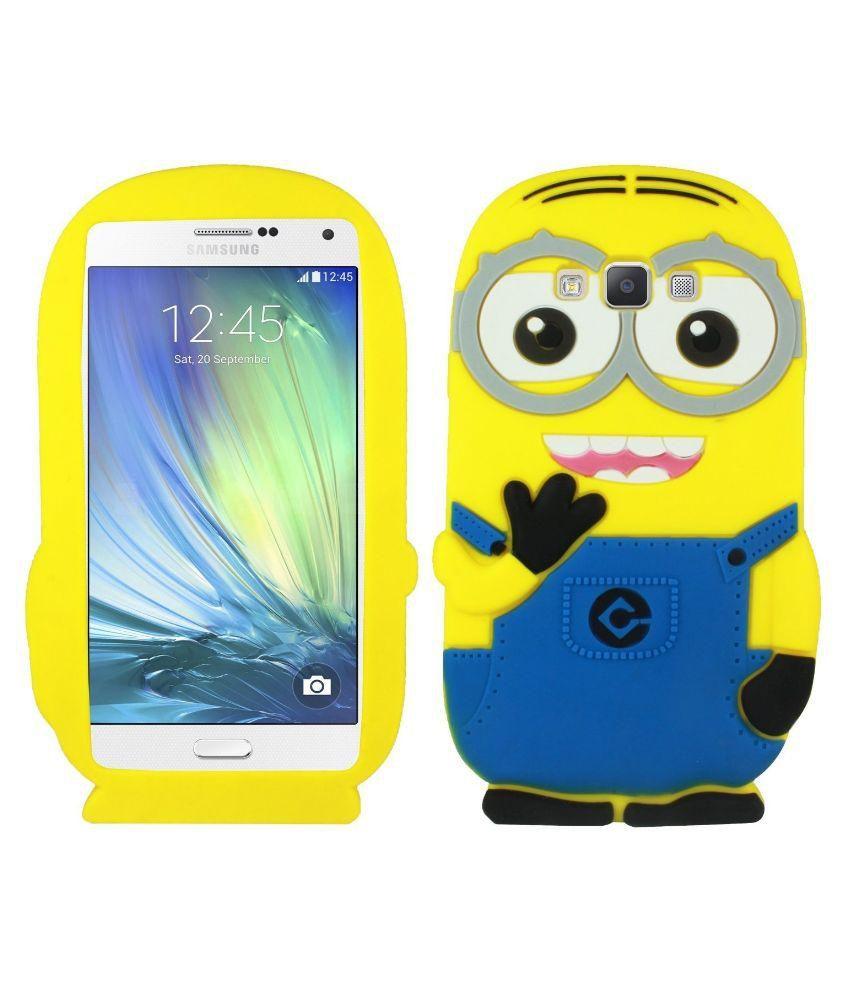 best sneakers 529ec d8d4c Cute Cartoon Despicable Me Minion Back Case cover For Samsung Galaxy J2