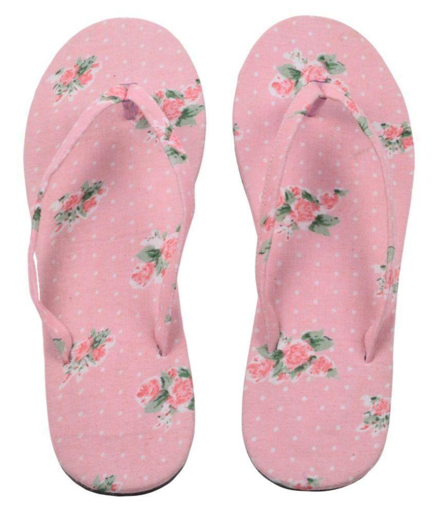 Hve Pink Flip Flops