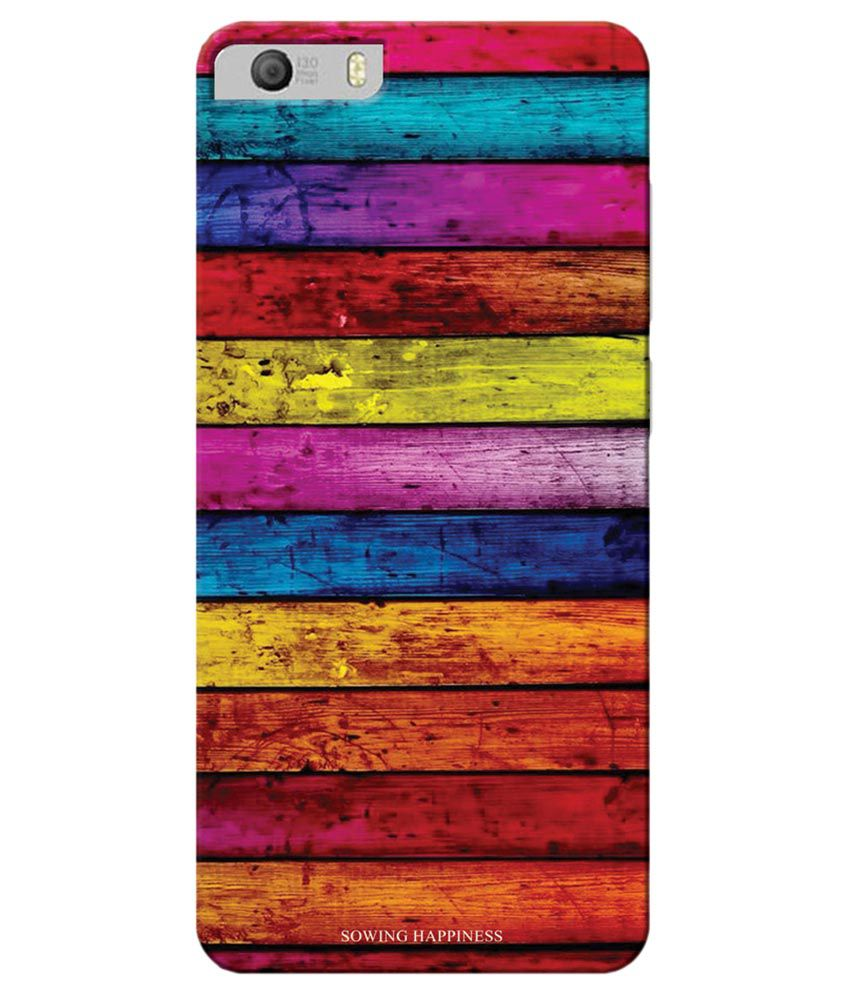 Micromax Canvas Knight 2 E471 Printed Back Cover by KanvasCases   Multicolor