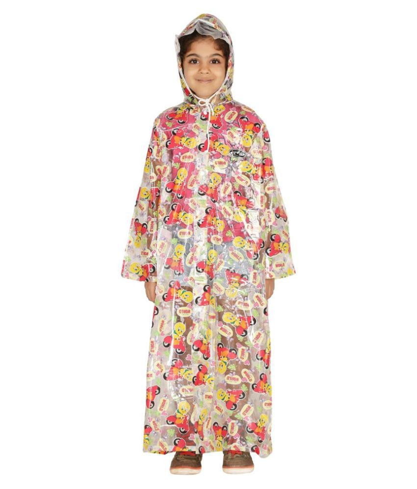 Zeel Multicolour Viscose Rainwear