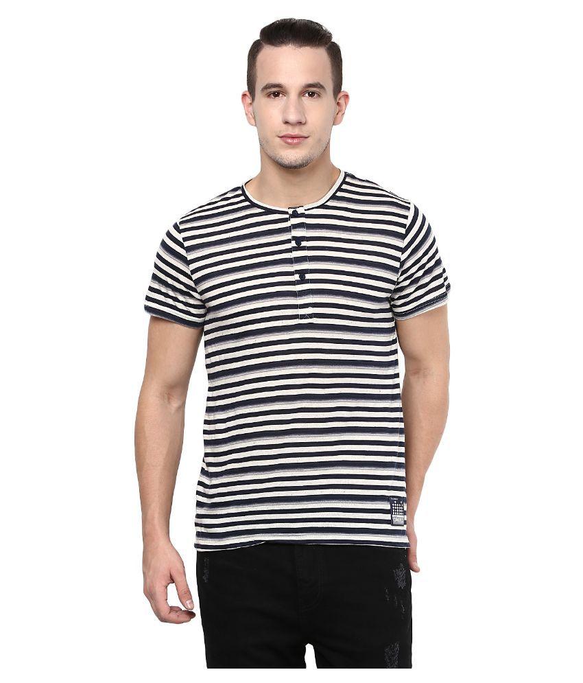 Atorse Multi Henley T Shirt
