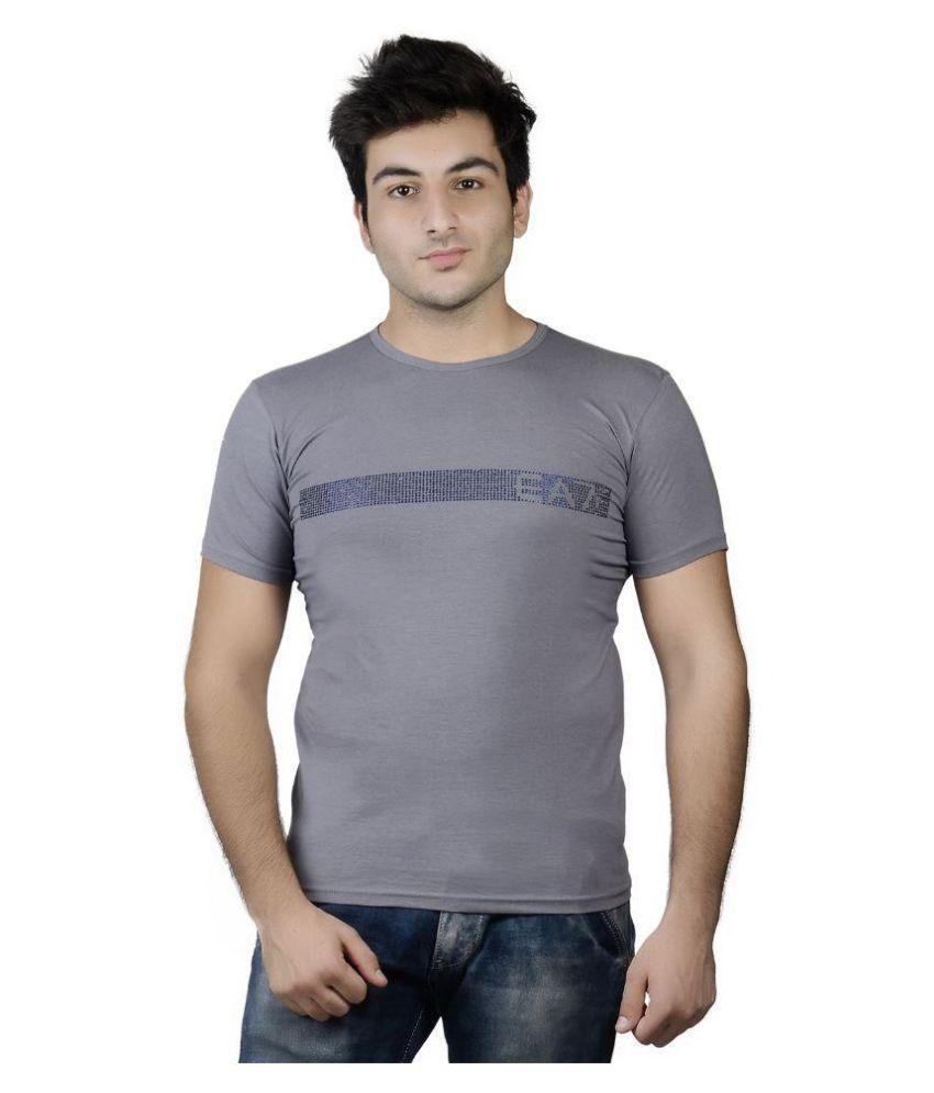 Karya Grey Round T Shirt