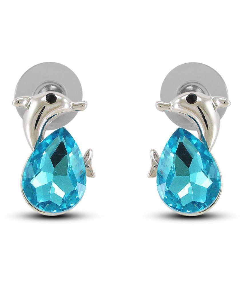 Diva Turquoise Stud Earrings