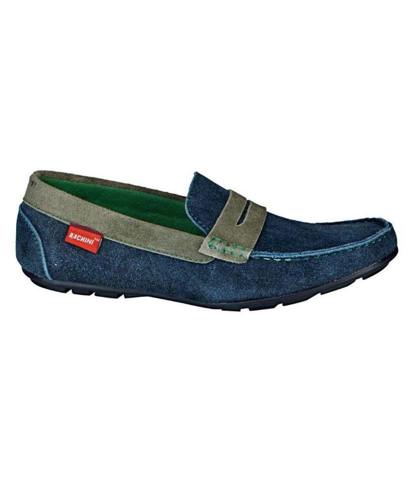 Bachini Navy Loafers Bachini Navy Loafers ...