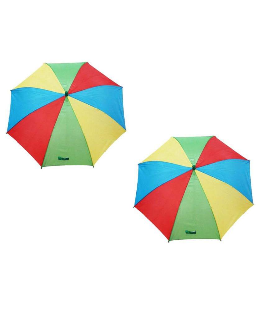 ed8870a74 Modgen Multicolour Polyester One Fold Kids' Umbrella - Set of 2 Pcs: Buy  Online at Low Price in India - Snapdeal