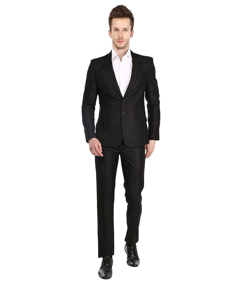 Platinum Studio Black Party Suits