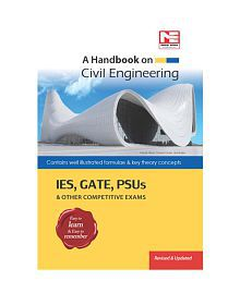 A Handbook On Civil Engineering Ies Gate Psus & Other Competitive Exams Paperback (English) 2014