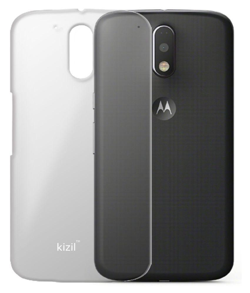 buy popular 199fc 92b29 Moto G4 Plus Back Cover by Kizil - Transparent