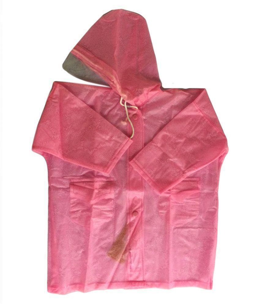 Prince Rainwear Pink Nylon Rainwear