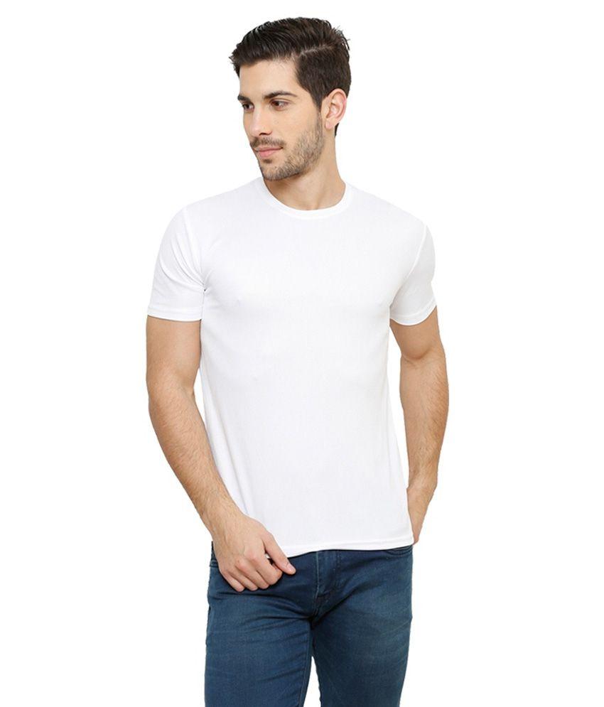 Grand Bear Dry-Fit Fitness T-Shirt - White