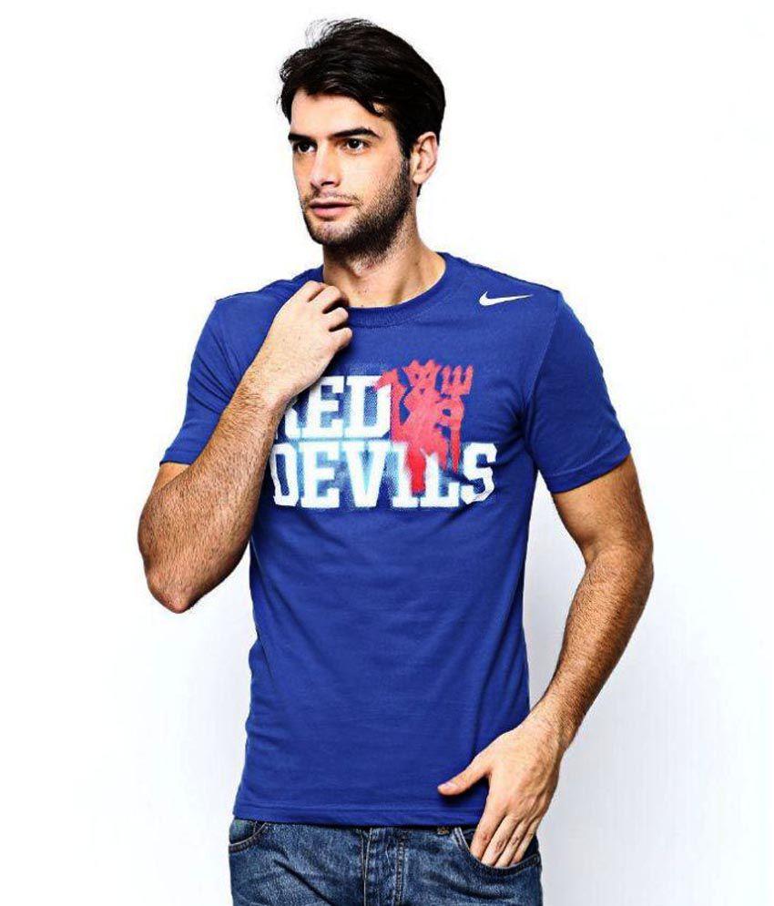Nike Blue Round T Shirt