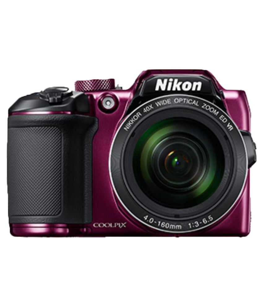 Nikon Coolpix B500 Plum 16MP Digital Camera-Pink