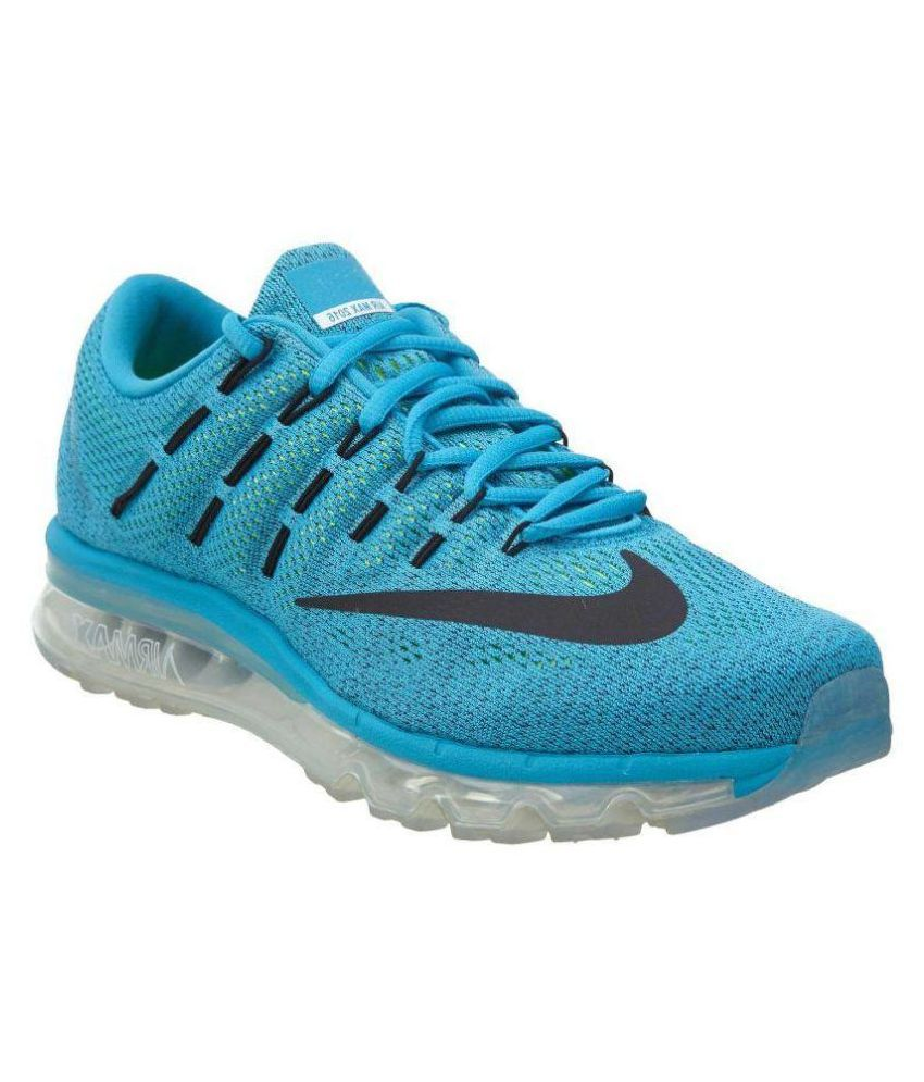 Airmax Blue Running Shoes