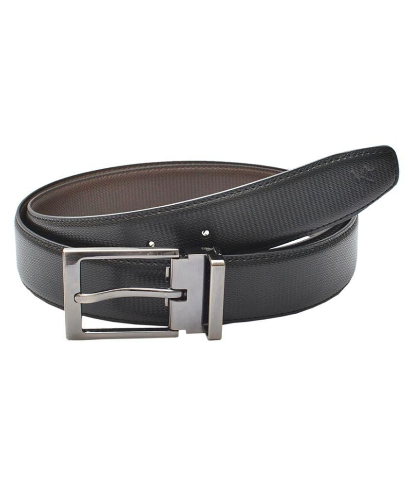 Milano X'Xssories Black Formal Belt