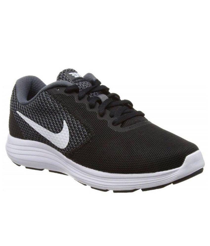 Nike Black Running Shoes Art N819300001
