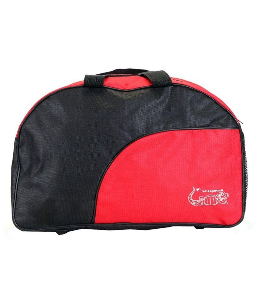 Elligator Black Gym Bag