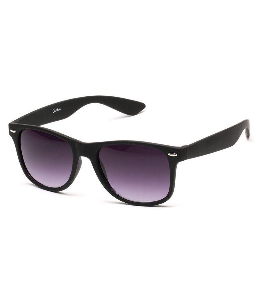 Gordon Purple Round Sunglasses ( G043_A )