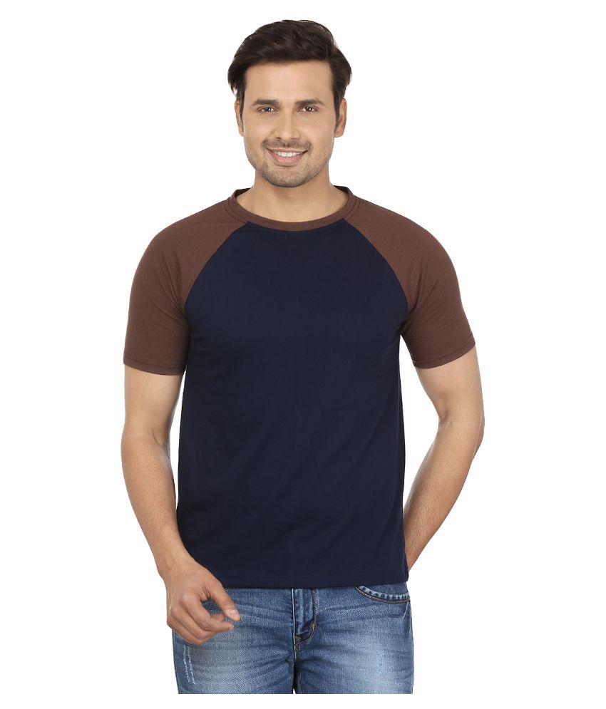 Jangoboy Blue Round T Shirt