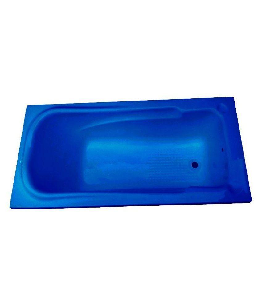 Buy Madonna Splendour Acrylic Fixed Bathtub - Alpine Blue Online at ...