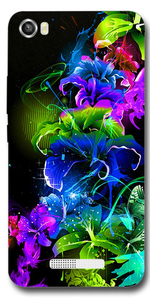 SEI HEI KI Printed Back Cover for Lava Iris X8   Multicolor