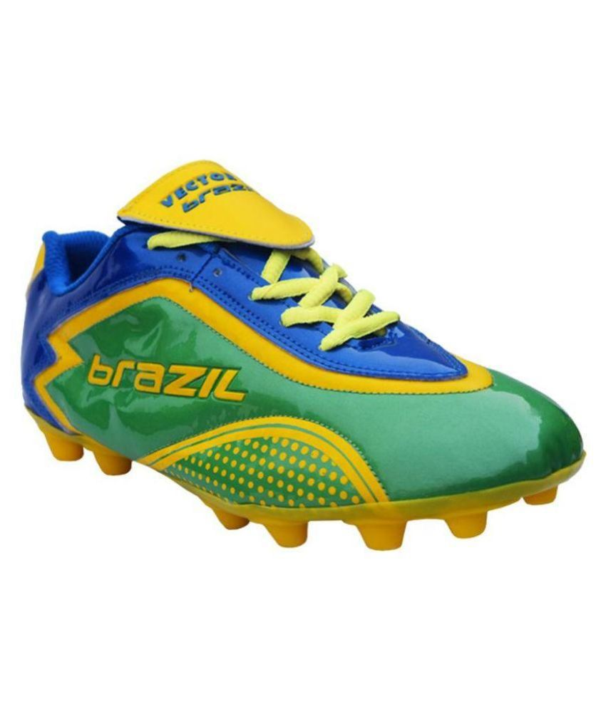 ceede3744 Vector X Brazil II Green Football Shoes - Buy Vector X Brazil II Green  Football Shoes Online at Best Prices in India on Snapdeal