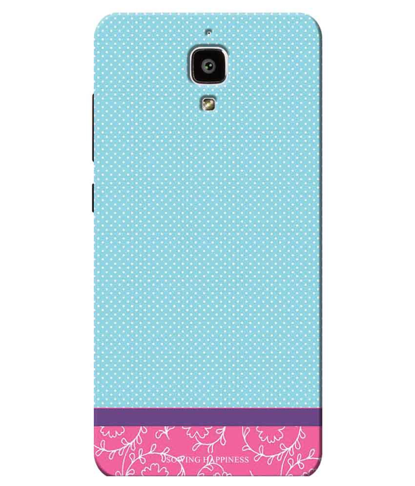 Xiaomi MI4 Printed Back Cover by Sowing Happiness   Multicolor
