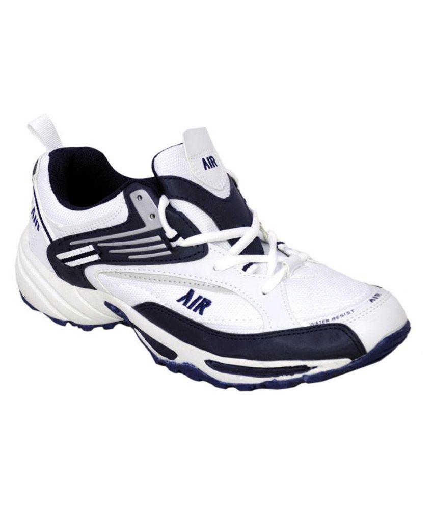 Air Fashion White Cricket Shoes - Buy