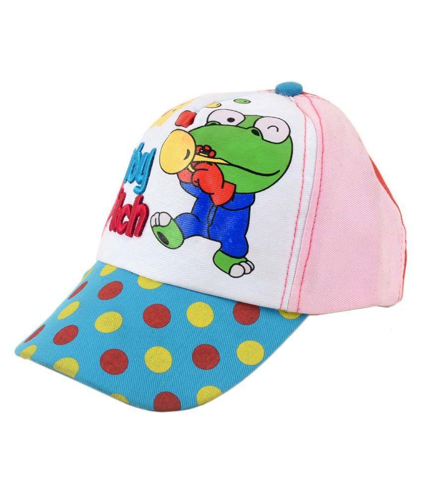 Tiekart Multicolour Cotton Tennis Cap