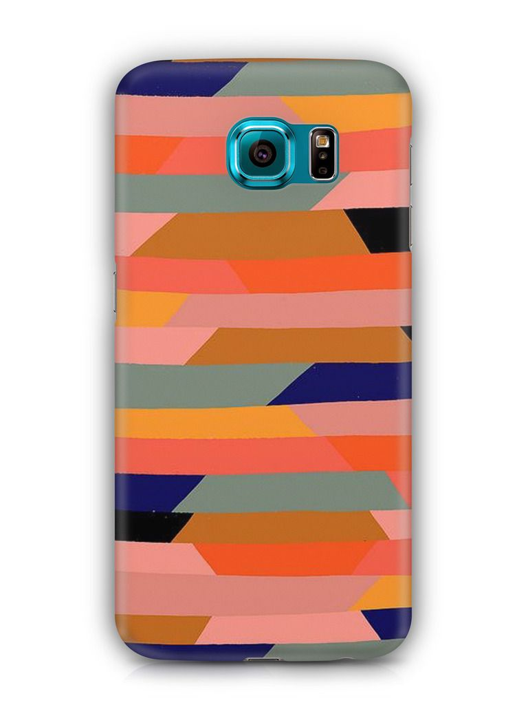 Cover Affair Stripes 3D Printed Back Cover Case for Samsung Galaxy Note 5