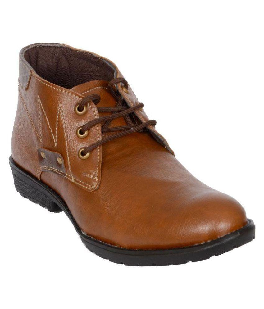 IK Fashion Brown Boots