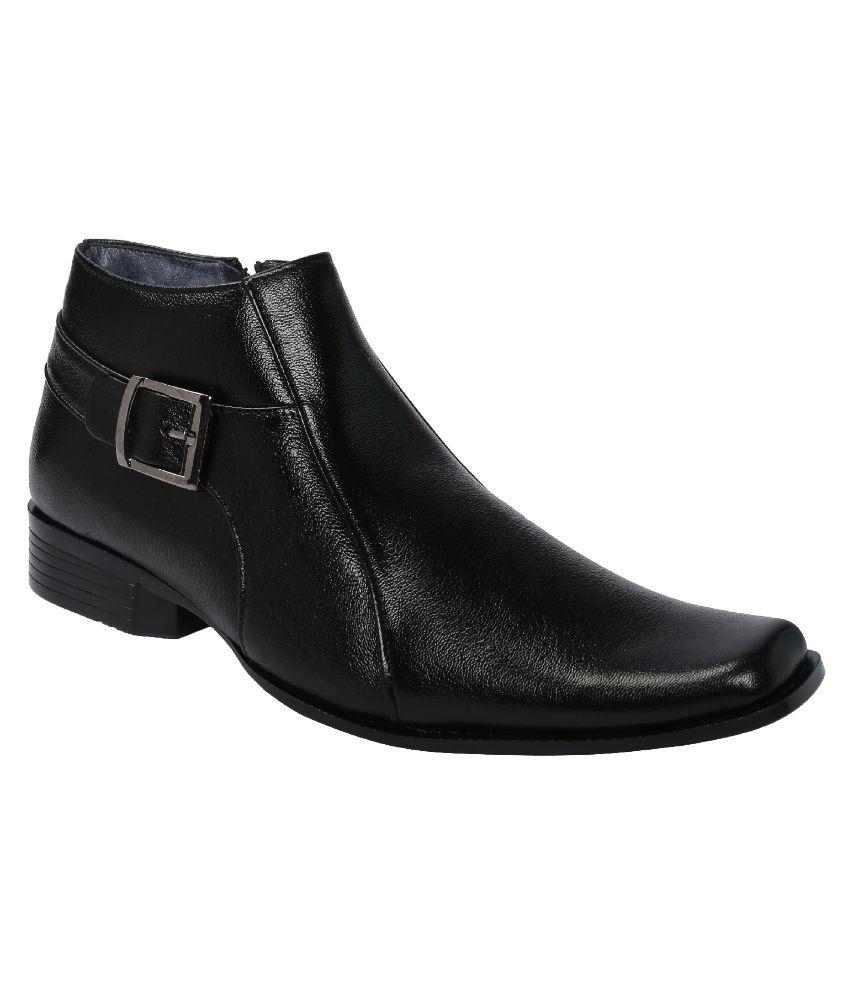 Shoe Bazar Black Boots