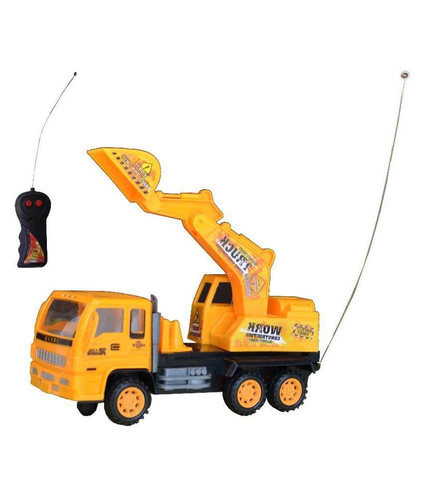 Taaza Garam Remote Control JCB Construction Builder Truck Toy
