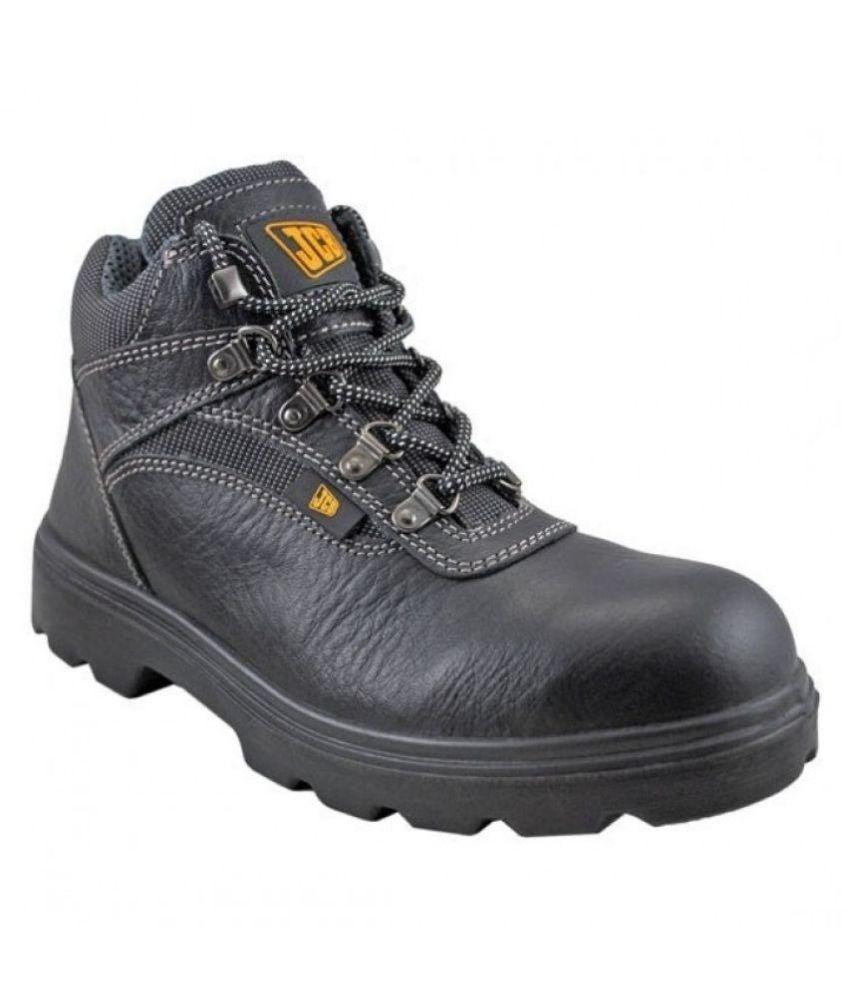 JCB Black Boots