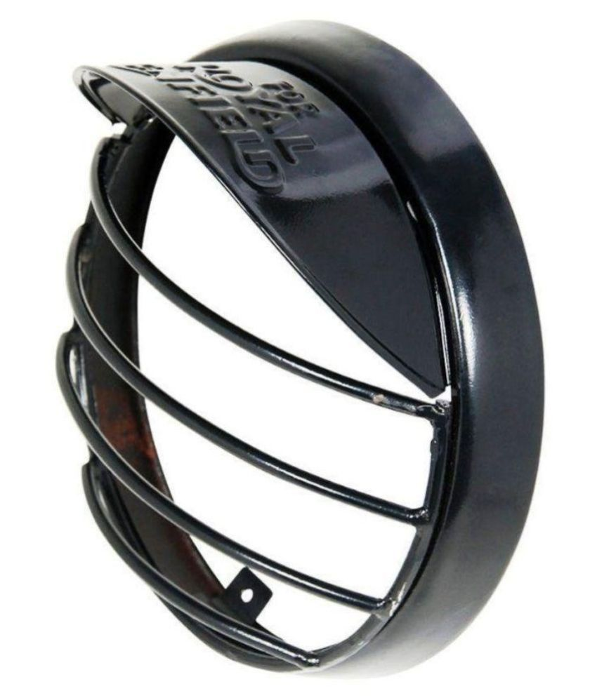 a498c363 Roadwaves Headlight Grill With Cap For Royal Enfield Bullet 350 - Black: Buy  Roadwaves Headlight Grill With Cap For Royal Enfield Bullet 350 - Black  Online ...