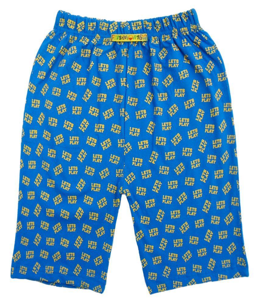 Fashionable Blue Shorts