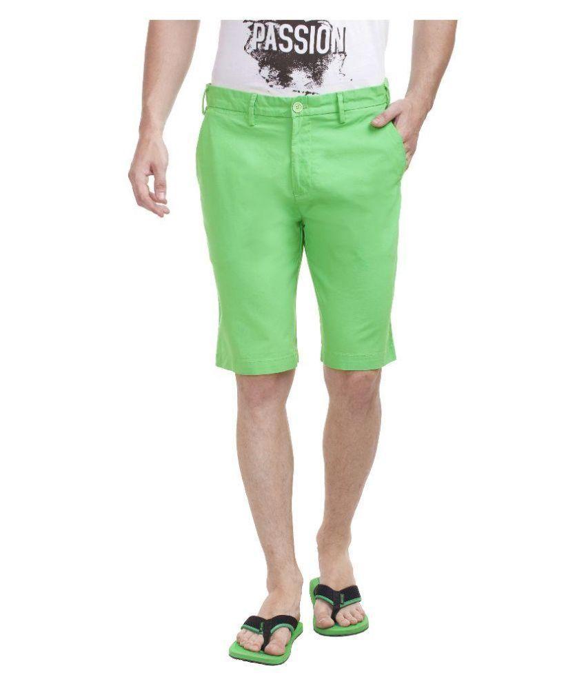 Shapes Green Shorts