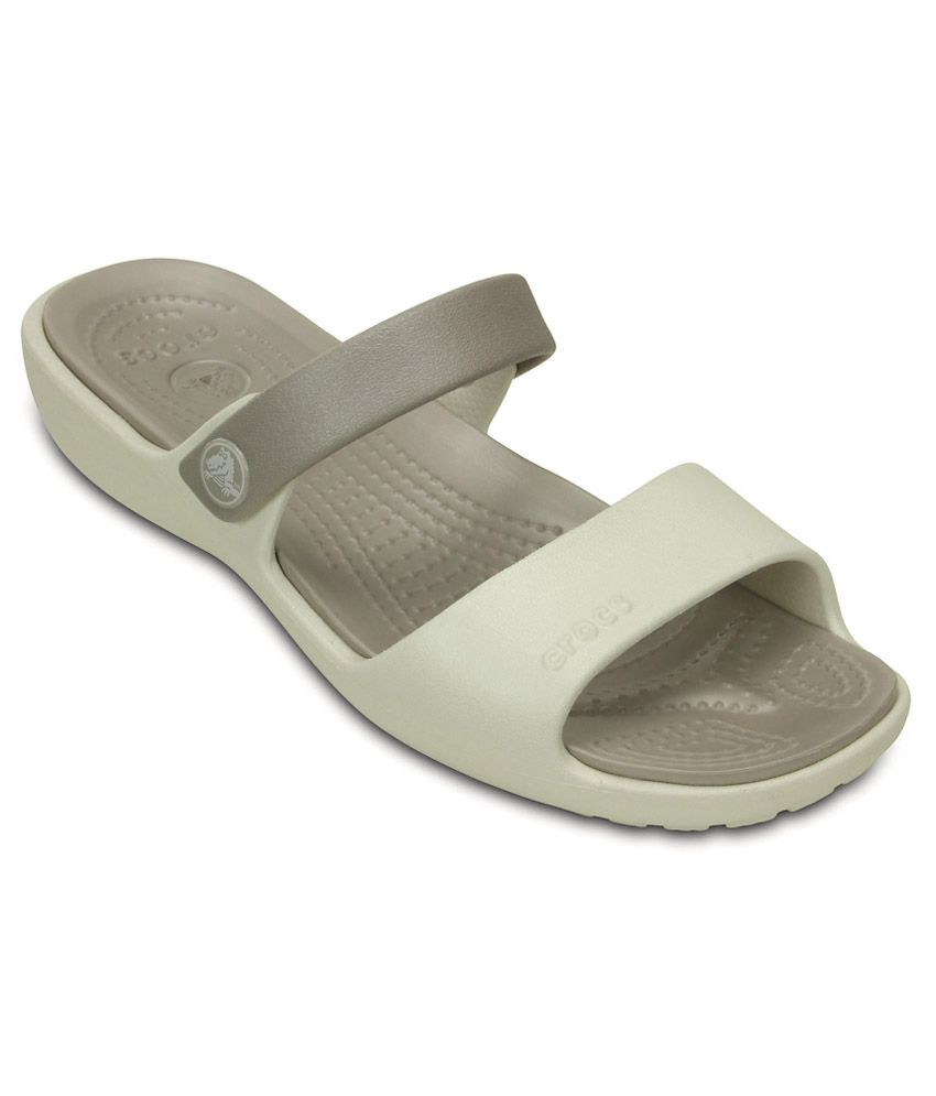 Crocs Relaxed Fit Gray Slippers