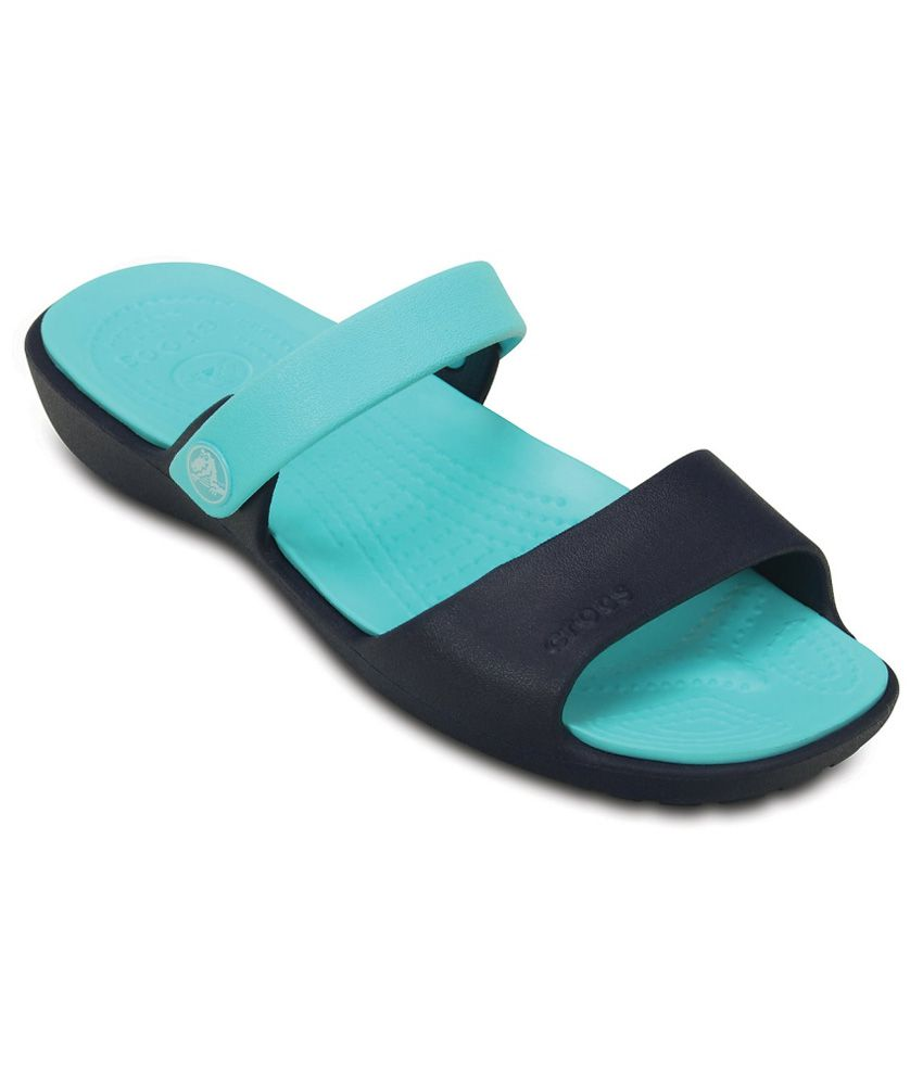 Crocs Relaxed Fit Green Slippers