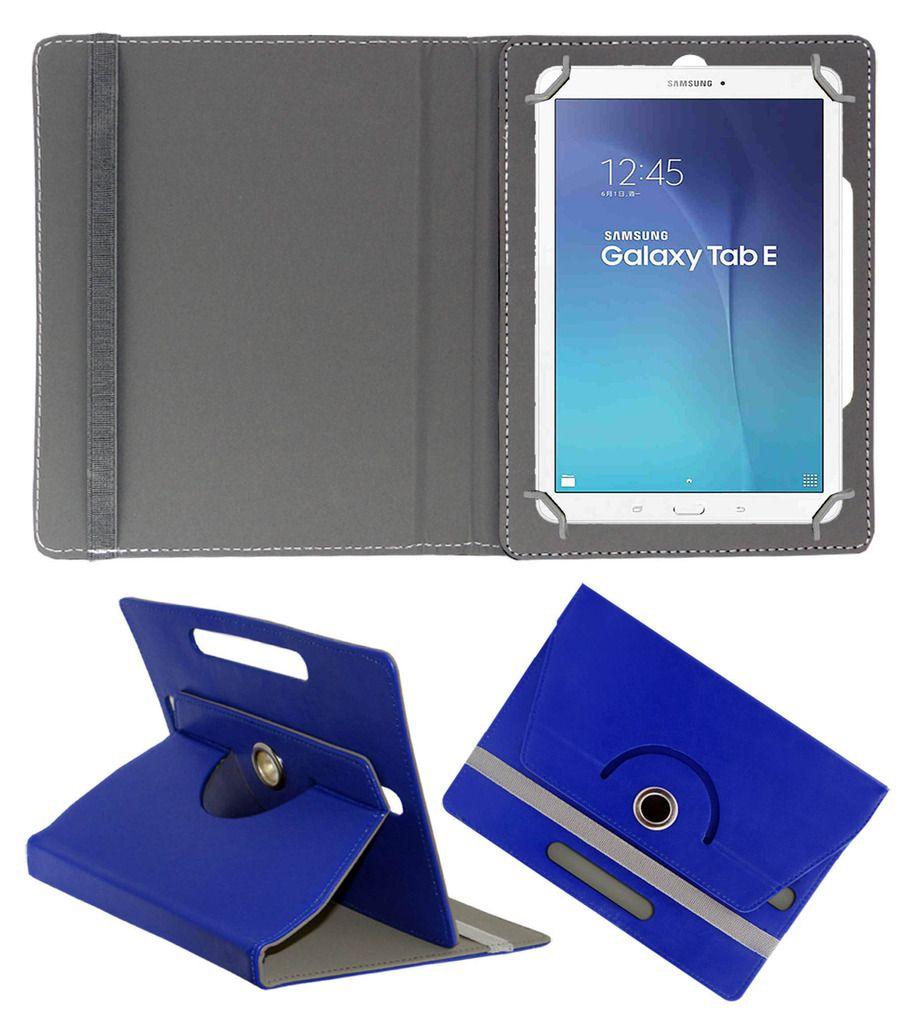 Samsung Galaxy Tab E Flip Cover by ACM - Blue