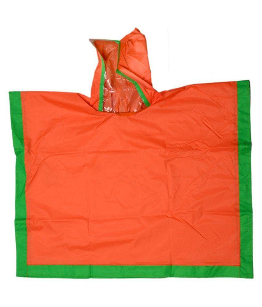 Colors N Bags Umbrella Print Raincoat With Bag