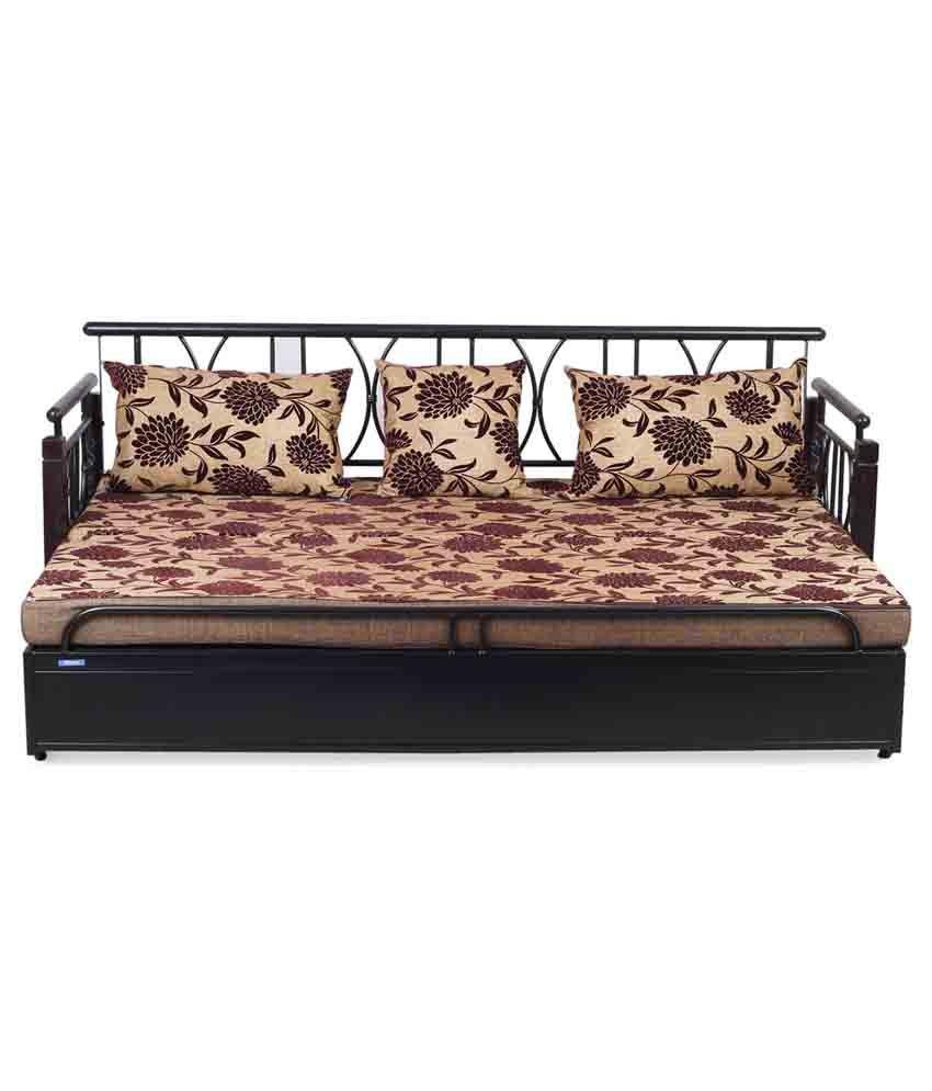 Nilkamal Bedroom Furniture Nilkamal Flint Fabric Sofa Cum Bed Buy Nilkamal Flint Fabric